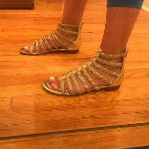 28faf9fed4d3 Marc Fisher Shoes - Marc Fisher Pepita Gladiator Sandals